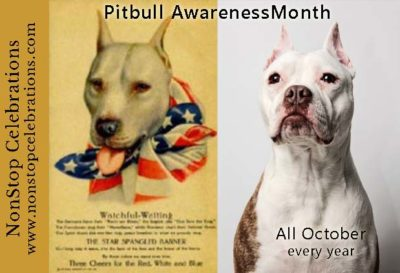 pitbull awareness month